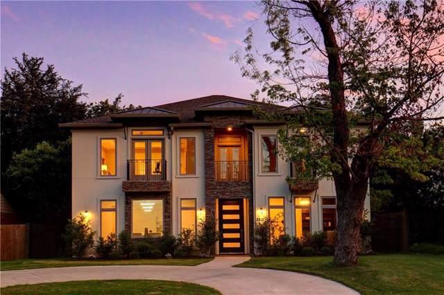 2813 University Boulevard, University Park, TX 75205 (MLS #14167719) :: Van Poole Properties Group