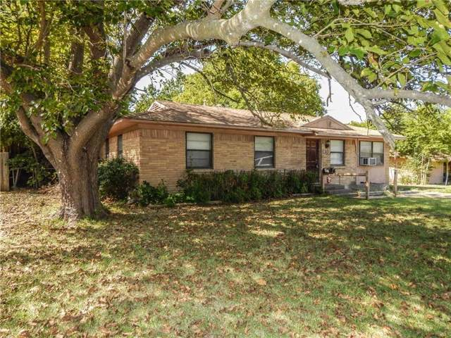 313 Wall Street, Terrell, TX 75160 (MLS #14167799) :: Real Estate By Design