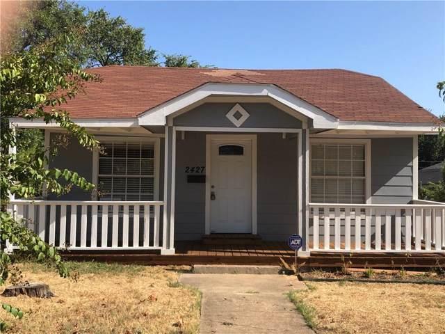 2427 Kingston Street, Dallas, TX 75211 (MLS #14167894) :: The Star Team | JP & Associates Realtors