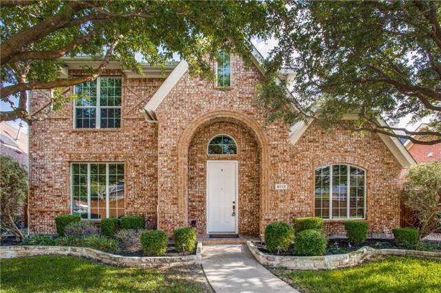 4113 Frio Way, Frisco, TX 75034 (MLS #14167903) :: Kimberly Davis & Associates