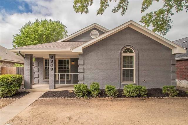 6909 Bentley Avenue, Fort Worth, TX 76137 (MLS #14167937) :: The Mitchell Group