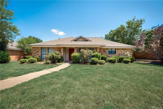 7824 Roberta Drive, Plano, TX 75025 (MLS #14167950) :: RE/MAX Town & Country