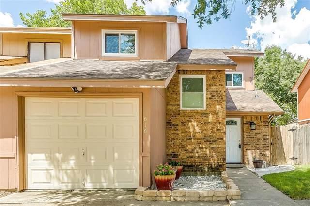 610 Victoria Drive, Grand Prairie, TX 75052 (MLS #14167964) :: Ann Carr Real Estate
