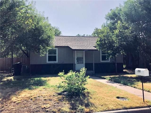 2133 Ross Avenue, Abilene, TX 79605 (MLS #14168039) :: The Heyl Group at Keller Williams
