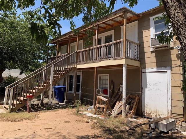 1605 Avenue E, Brownwood, TX 76801 (MLS #14168091) :: Ann Carr Real Estate
