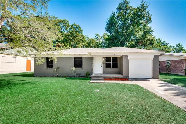 410 W Ridgewood Drive, Garland, TX 75041 (MLS #14168121) :: RE/MAX Town & Country