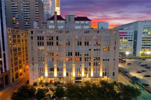 1122 Jackson Street #1003, Dallas, TX 75202 (MLS #14168262) :: The Rhodes Team