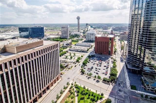 1200 Main Street #2605, Dallas, TX 75202 (MLS #14168379) :: The Hornburg Real Estate Group