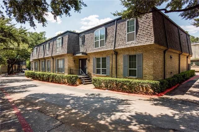 5053 Les Chateaux Drive #141, Dallas, TX 75235 (MLS #14168414) :: The Hornburg Real Estate Group