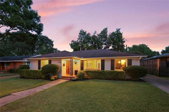 7206 Dalewood Lane, Dallas, TX 75214 (MLS #14168459) :: The Real Estate Station