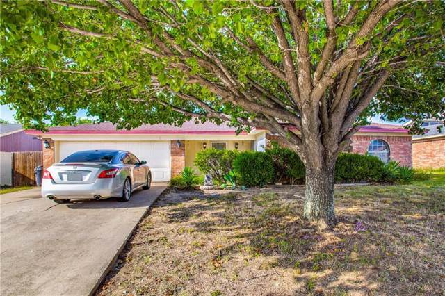 3309 Appomattox Drive, Forest Hill, TX 76140 (MLS #14168553) :: Hargrove Realty Group