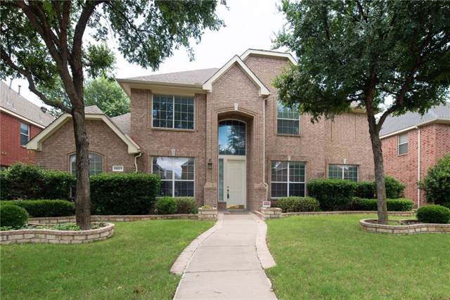 14877 Snowshill Drive, Frisco, TX 75035 (MLS #14168599) :: Tenesha Lusk Realty Group
