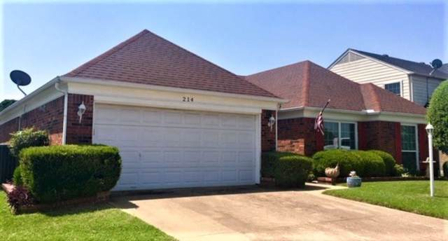 214 E Embercrest Drive, Arlington, TX 76018 (MLS #14168608) :: Hargrove Realty Group