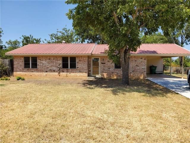1002 W Hall Street, Bangs, TX 76823 (MLS #14168664) :: Ann Carr Real Estate