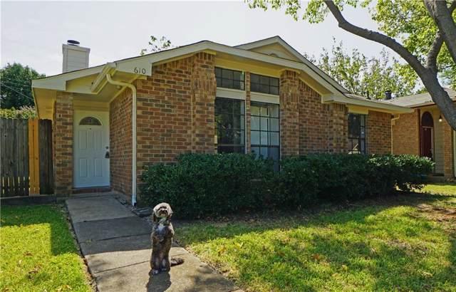610 Las Brisas Drive, Mesquite, TX 75149 (MLS #14168755) :: The Paula Jones Team | RE/MAX of Abilene