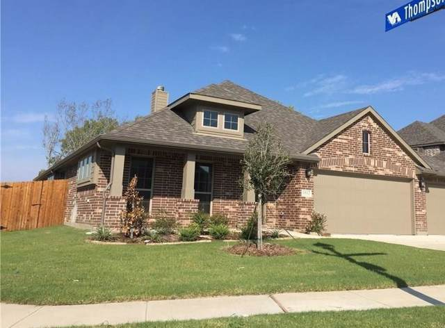 125 Thompson Drive, Van Alstyne, TX 75495 (MLS #14168761) :: The Heyl Group at Keller Williams
