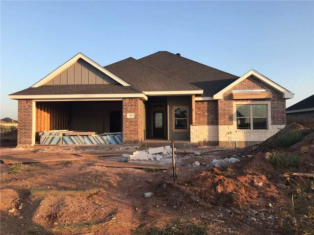 129 Carriage Hills Parkway, Abilene, TX 79602 (MLS #14168771) :: Ann Carr Real Estate