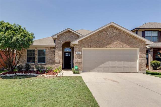 849 Kentucky Derby Lane, Fort Worth, TX 76179 (MLS #14168802) :: All Cities Realty