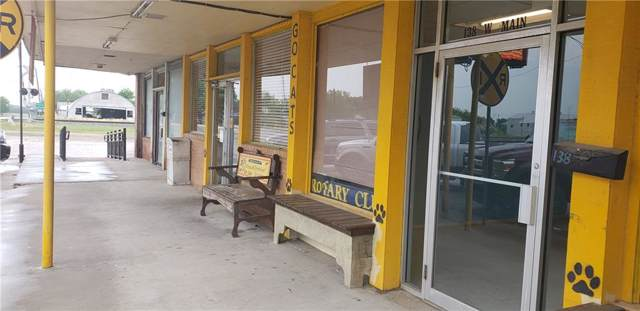 138 W Main Street, Itasca, TX 76055 (MLS #14168834) :: The Real Estate Station