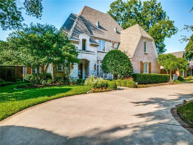 6530 Glendora Avenue, Dallas, TX 75230 (MLS #14168896) :: Robbins Real Estate Group