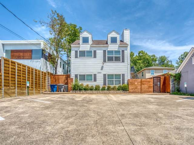 5963 Ross Avenue #202, Dallas, TX 75206 (MLS #14168971) :: The Real Estate Station