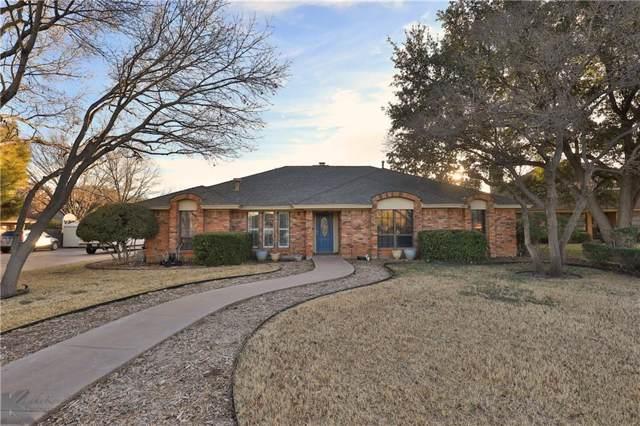 2502 Woodlake Drive, Abilene, TX 79606 (MLS #14169007) :: Century 21 Judge Fite Company