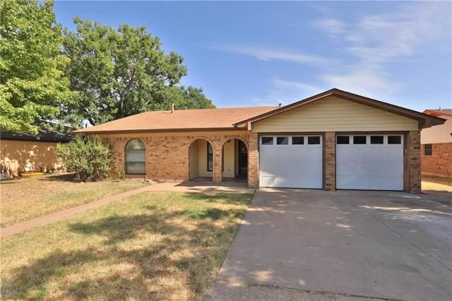 5632 Castle Road, Abilene, TX 79606 (MLS #14169125) :: Century 21 Judge Fite Company