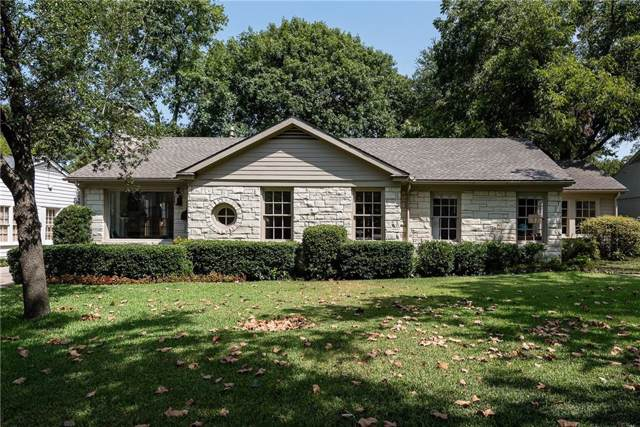 5637 Stanford Avenue, Dallas, TX 75209 (MLS #14169192) :: Vibrant Real Estate