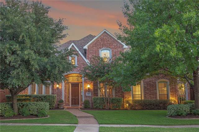 4887 Oakhurst Lane, Frisco, TX 75034 (MLS #14169220) :: Kimberly Davis & Associates