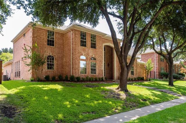 5900 Milano Drive, Plano, TX 75093 (MLS #14169242) :: The Real Estate Station