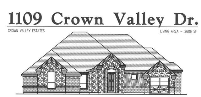 1109 Crown Valley, Weatherford, TX 76087 (MLS #14169315) :: The Rhodes Team