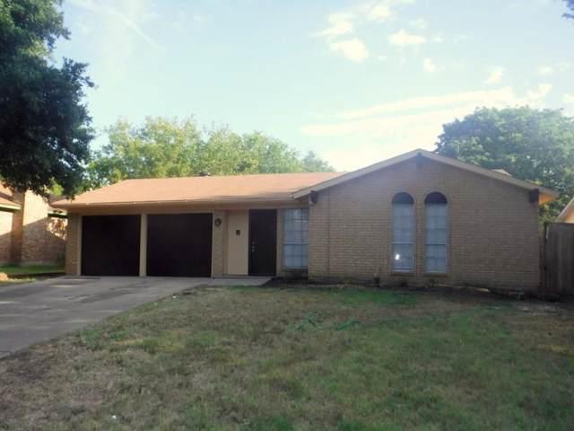 1706 Waggoner Street, Grand Prairie, TX 75051 (MLS #14169325) :: Ann Carr Real Estate