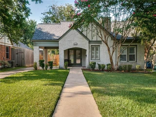 6116 Prospect Avenue, Dallas, TX 75214 (MLS #14169358) :: The Real Estate Station