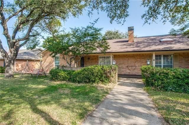 7709 Village Trail Drive, Dallas, TX 75254 (MLS #14169407) :: HergGroup Dallas-Fort Worth