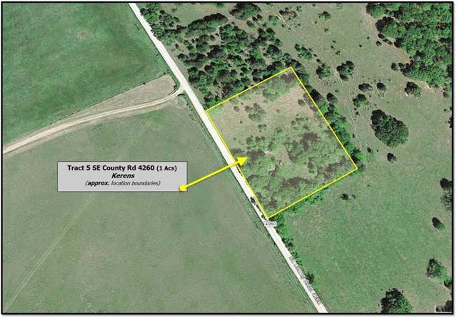 Tract 5 SE County Road 4260, Kerens, TX 75144 (MLS #14169430) :: Ann Carr Real Estate