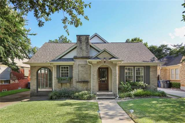 5834 Monticello Avenue, Dallas, TX 75206 (MLS #14169440) :: The Real Estate Station