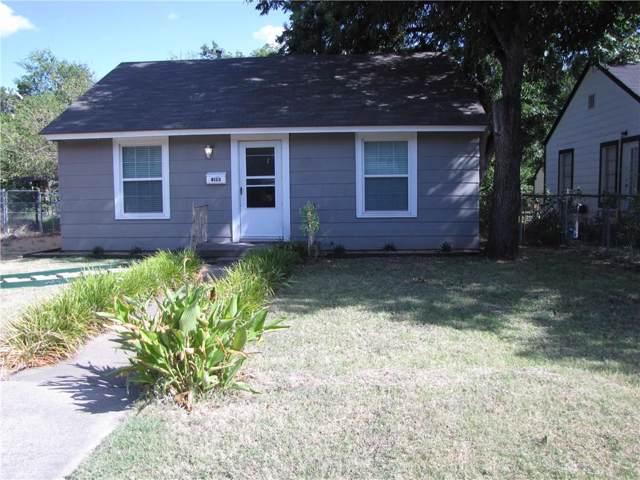 4133 Valentine Street, Fort Worth, TX 76107 (MLS #14169446) :: Potts Realty Group