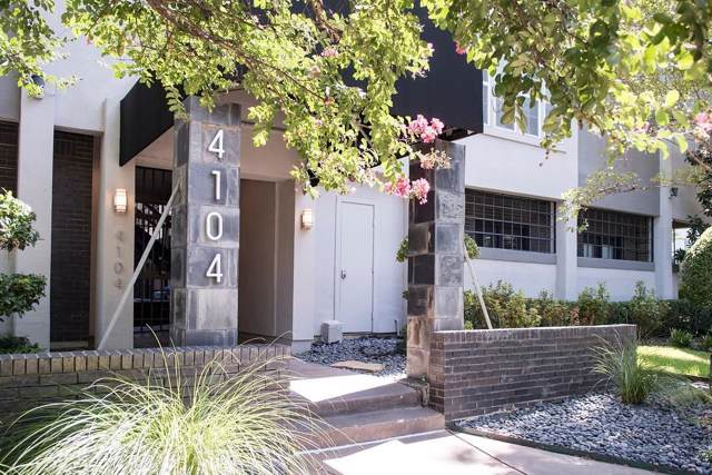 4104 N Hall Street #217, Dallas, TX 75219 (MLS #14169486) :: Real Estate By Design
