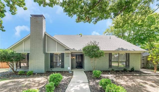 2308 Evening Sun Drive, Plano, TX 75093 (MLS #14169572) :: Ann Carr Real Estate