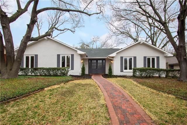 6622 Hillwood Lane, Dallas, TX 75248 (MLS #14169597) :: Vibrant Real Estate
