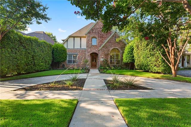 6038 Goliad, Dallas, TX 75206 (MLS #14169652) :: The Heyl Group at Keller Williams