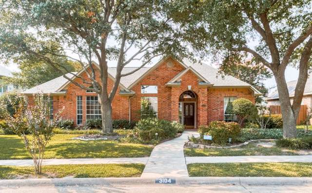 3104 Congress Avenue, Plano, TX 75025 (MLS #14169653) :: Lynn Wilson with Keller Williams DFW/Southlake