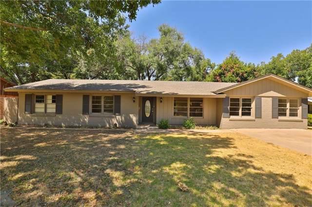 2032 Hollis Drive, Abilene, TX 79605 (MLS #14169661) :: The Mitchell Group