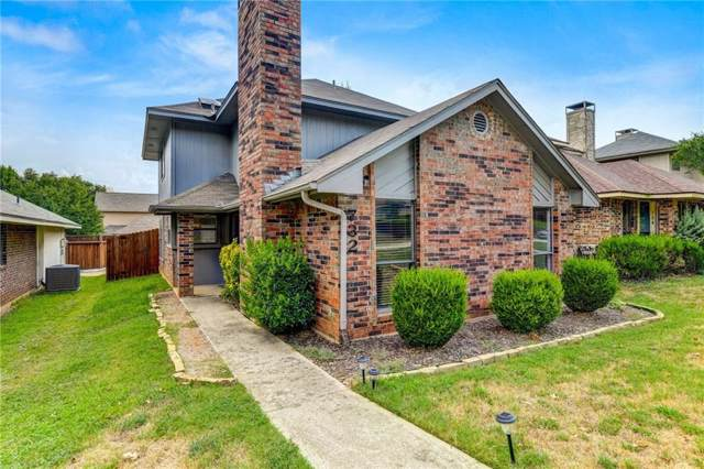 732 Red Oak Drive, Lewisville, TX 75067 (MLS #14169775) :: The Rhodes Team