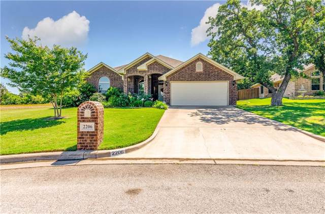 2206 Autumn Court, Mineral Wells, TX 76067 (MLS #14169795) :: RE/MAX Town & Country