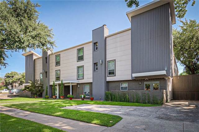 4224 Rawlins Street #104, Dallas, TX 75219 (MLS #14169810) :: Team Tiller