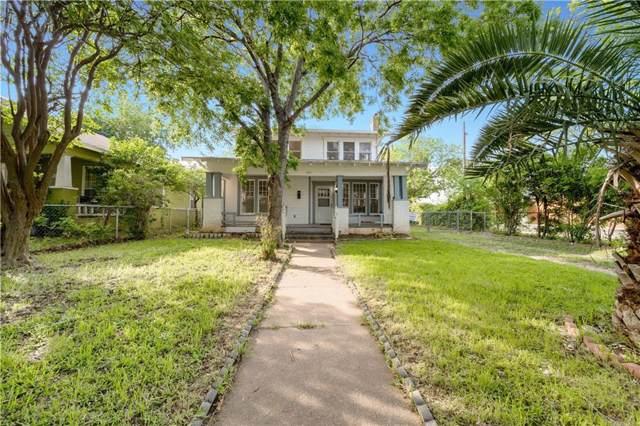 1815 Proctor Avenue, Waco, TX 76708 (MLS #14169828) :: Century 21 Judge Fite Company