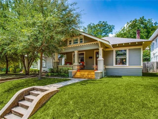 115 N Edgefield Avenue, Dallas, TX 75208 (MLS #14169861) :: Van Poole Properties Group