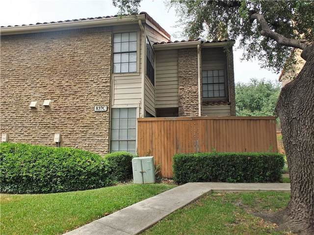 837 Dublin Drive #3, Richardson, TX 75080 (MLS #14169958) :: Vibrant Real Estate