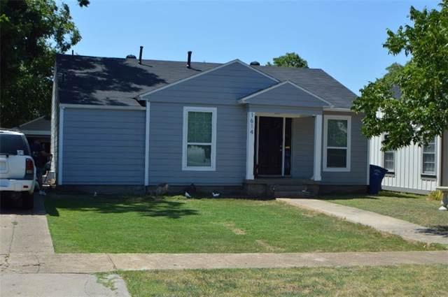 1614 Wilbur Street, Dallas, TX 75224 (MLS #14169959) :: Ann Carr Real Estate
